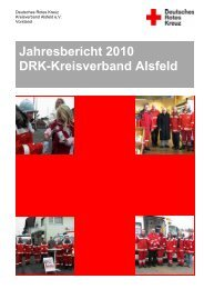Jahresbericht 2010 DRK-Kreisverband Alsfeld