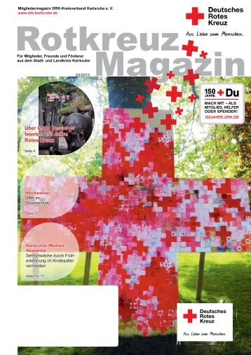 Rotkreuz Magazin 2013_3_web.pdf - DRK Kreisverband Karlsruhe