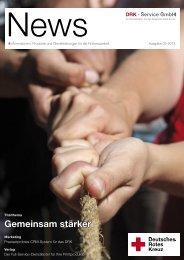News - Ausgabe 02-2013 - DRK-Service GmbH