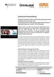 Gemeinsame Pressemitteilung - Die Drogenbeauftragte der ...