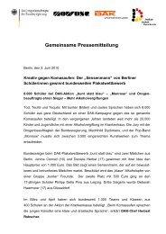 Pressemitteilung - Die Drogenbeauftragte der Bundesregierung