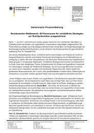 Elf Kommunen für vorbildliche Strategien zur Suchtprävention ...
