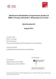 Abschlussbericht - Die Drogenbeauftragte der Bundesregierung