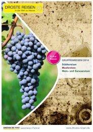 Kulturreisen Katalog 2014 - Droste Reisen