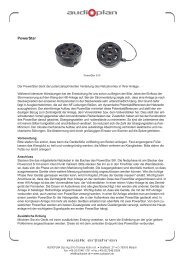 Druckversion Powerstar (PDF) - Audioplan