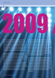 Jahresrückblick 2009 - Druckmarkt