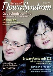 Nr. 61, Mai - Deutsches Down-Syndrom InfoCenter