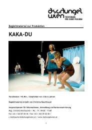 Begleitmaterial: KAKA-DU - Dschungel Wien