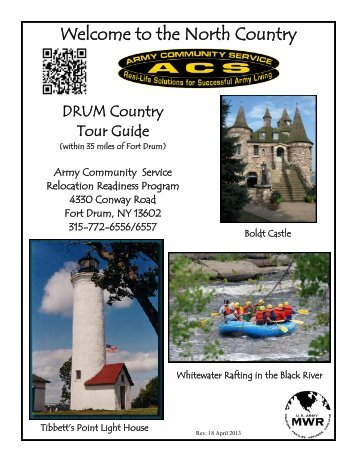 Welcome to the North Country - Fort Drum Family and Morale ...