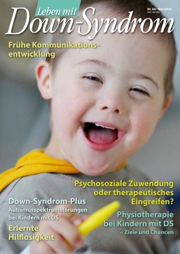 Down-Syndrom-Plus Frühe Kommunikations ... - DS-InfoCenter