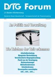 Forum 3/2013 - DSTG Baden-Württemberg