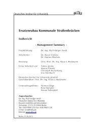 Ersatzneubau Kommunale Straßenbrücken - Deutscher Städte- und ...