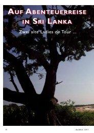 Auf Abenteuerreise in Sri Lanka - Durchblick