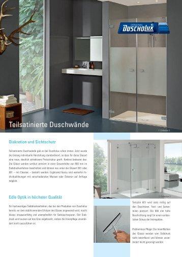 Infoblatt Teilsatinat - Duscholux