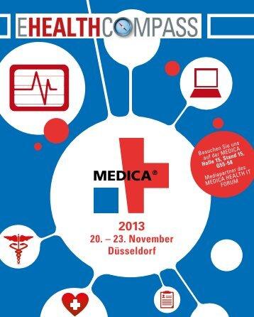 können Sie sich den E-HEALTH-COMPASS MEDICA 2013 ...