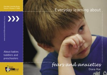 View a sample chapter here - Early Childhood Australia