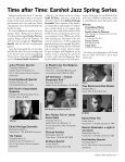 Time after Time: Earshot Jazz Spring Series - Page 7