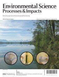 Environmental Science - Eawag