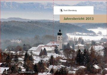 schriftlicher Bericht - Stadt Ebersberg