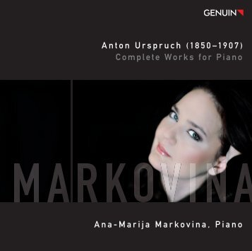 Anton Urspruch (1850–1907) Complete Works for Piano ... - eClassical