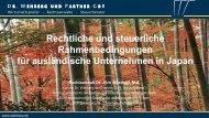 Rechtliche und Steuerliche Rahmenbedingungen ... - Eclareon GmbH