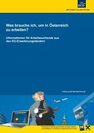 Was brauche ich, um in Österreich zu arbeiten? - Ecoplus ...