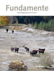 Fundamente - Nachhaltigkeitsbericht 2011/2012 - Econsense