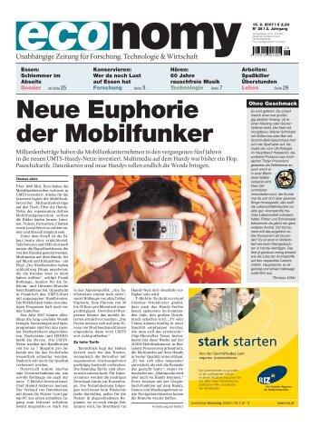 Neue Euphorie der Mobilfunker - economyaustria