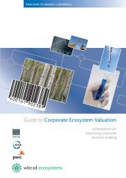 Guide to Corporate Ecosystem Valuation - World Business Council ...