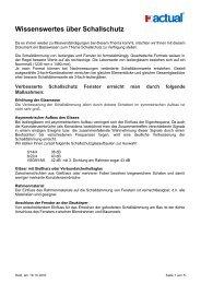 Wissenswertes über Schallschutz - Edelweiss Fenster AG