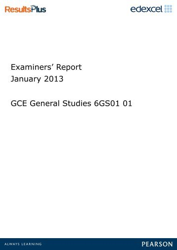physics examiner report june 2003 Chief examiners' report, lagos office, nigeria has been cited by the following article: 1 physics department college of education (tech), lafiagi.