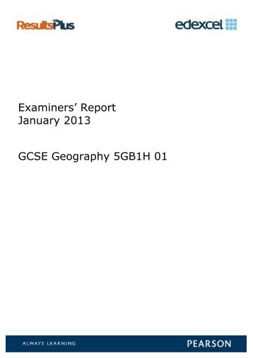 Reports on the Examination