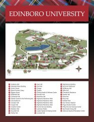 Map of Campus.cdr - Edinboro University