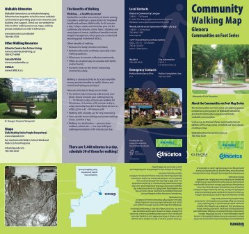 Glenora Community Walking Map - City of Edmonton