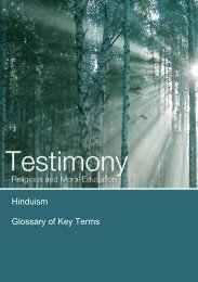 Hinduism Glossary of Key Terms - Education Scotland
