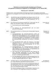 Richtlinien zur Interkantonalen Vereinbarung für Schulen mit ...