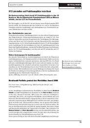 972 Lehrstellen und Praktikumsplätze beim Bund Berufswahl ...