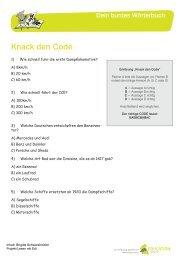 Knack den Code - Quizfragen zum Buch (PDF)