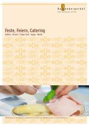 Feste, Feiern, Catering - Babenbergerhof