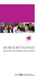 Die Neue Mittelschule - Qualität im Lernen und ... - Education Group