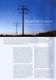 Brummende Leitungen - ETH Zürich