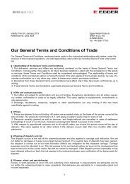 (PDF) General Terms - Fritz Egger GmbH & Co.