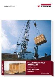 EGGER OSB Verpackung - Fritz Egger GmbH & Co.