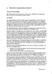 2. Verkauf der Liegenschaft am Graben 6 - Gemeinde Eglisau