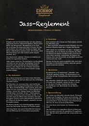 Jass-Reglement - Eichhof