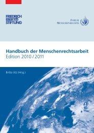 Handbuch der Menschenrechtsarbeit Edition 2010 / 2011 - Eine-Welt ...