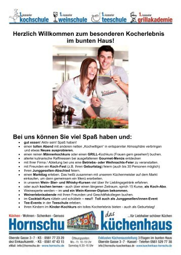 Hornschu Kassel 20 free magazines from einkaufen kassel de