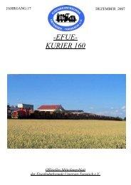 Nr. 160 Dezember 2007 - Eisenbahnfreunde Uetersen-Tornesch eV