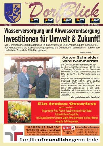 Investitionen für Umwelt & Zukunft! - Gemeinde Deutsch Schützen ...