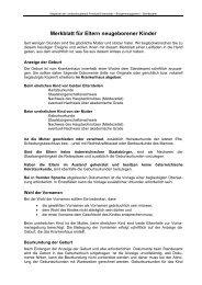 Merkblatt für Eltern - Eisenstadt